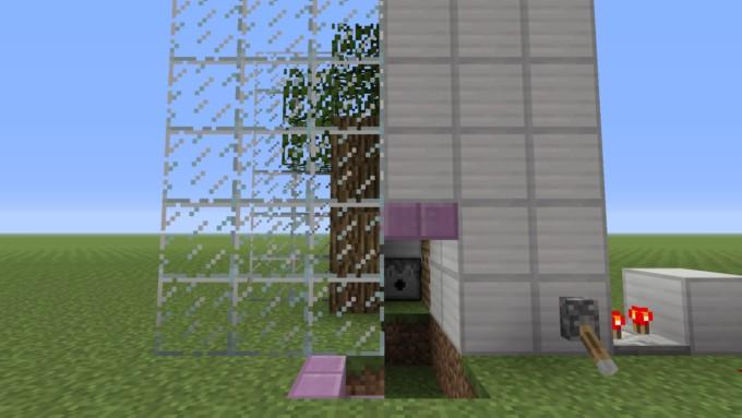 自動 マイクラ 原木