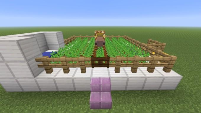 村人 収穫しない マイクラ